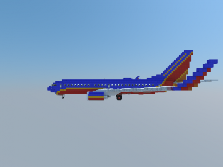Southwest airlines boeing 737 7h4 download mcedit world for Southwest airlines free wifi