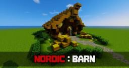 Nordic Barn Tutorial Minecraft Map & Project