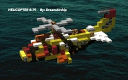B-79 Helicopter by Ouranos/DreamAirship Minecraft Map & Project