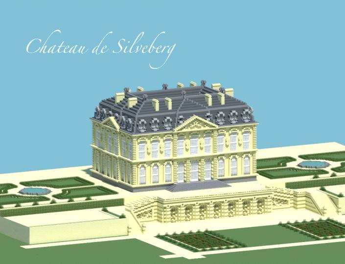 Chateau de silveberg minecraft project - Chateau de minecraft ...