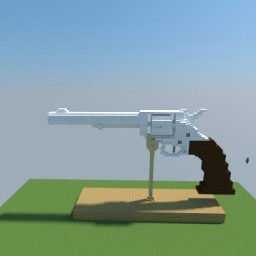Colt Pearl Revolver Minecraft Map & Project