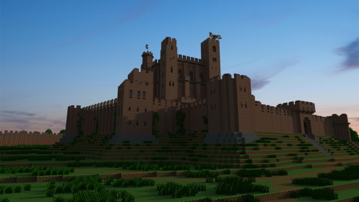 how to build a castle in real life