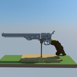Confederate Colt Navy .44 Minecraft Map & Project