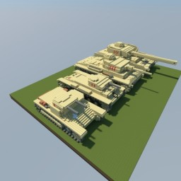 German Tank Evolution Pt. I Minecraft Project