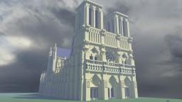 Notre Dame de Paris Minecraft