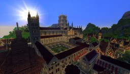 Timelapse - Lem, a Medieval City Minecraft Project