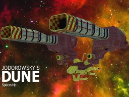 Jodorowsky's dune spaceship (inspiration) Minecraft Map & Project