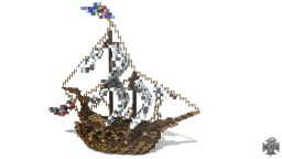 ·Medieval Ship· - ·Barco Medieval· Minecraft Map & Project