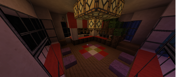 Hanging Cafe interior