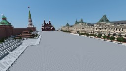 Moscow Reproduction project (1.1 scale) Minecraft Project