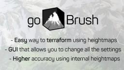 [Spigot] goBrush 2.0 - Worldpainter ingame