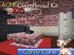 ACME Gingerbread Kit 128x Minecraft Texture Pack
