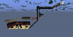 Roller Coaster EXTREME!!!! Minecraft Map & Project