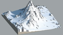 Tibetan Style Mountain Minecraft Map & Project