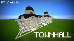 Huge Townhall Minecraft Map & Project