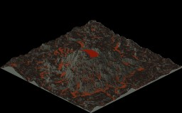 2000x2000 Volcano Terrain Minecraft