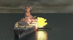 IJN Battleship Yamato Minecraft