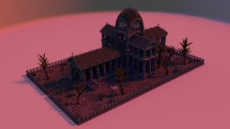 Gothic cathedrale Minecraft