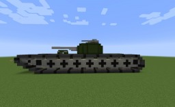 Goliath Multirole Super Tank Minecraft