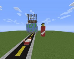 Mine And Craft G's World (for 1.8) PT BR Minecraft Map & Project