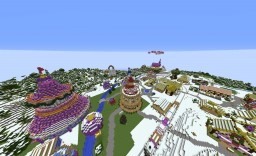 PonyVille Winter Wrap-Up Version *UPDATED 18/05/16* Minecraft Map & Project