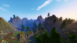 Hilly Terrain By MrFroziX134 Minecraft Map & Project