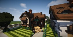 Barber cottage 1 Minecraft Map & Project