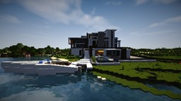Minecraft Modern Mansion Minecraft Project