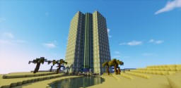 Luxury hotel 25% done Minecraft Map & Project