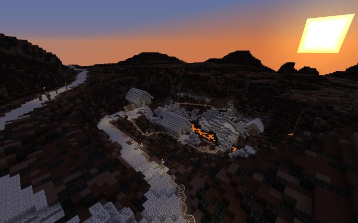 The re-textured mine