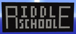 Riddle School Minecraft Map & Project