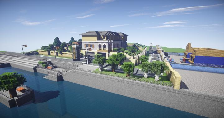 Rainbow Six Siege House Minecraft Project
