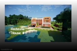 Redstone House #1 Minecraft
