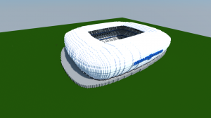 Allianz Arena Minecraft Project