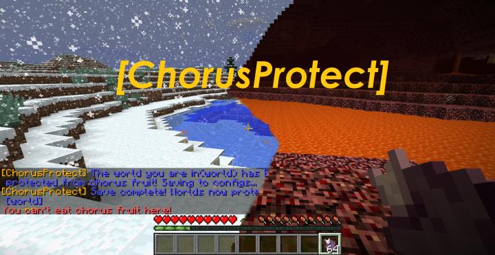 Popular Mod : ChorusProtect-AnniversaryEdition[1.13 - 1.9.X]