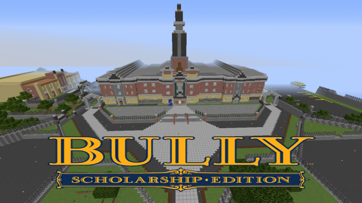 Bully In Minecraft!!!(Canis Canem Edit) Minecraft Project