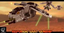 Republic LAAT Gunship - ImperiumMC Minecraft Project