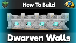 Dwarven Builds - Complete with Tutorials! Minecraft Project