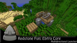 Elytra Core - Multidirectional Elytra Launcher Minecraft Map & Project
