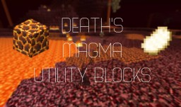 Death's Magma Utility Blocks(One command block)[16w20a - 1.10] Minecraft Map & Project