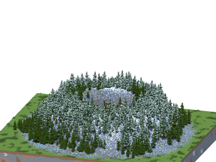 Hub mountain from outside