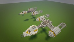 Y-WING BTL Y Wing Star Fighter Star wars Y Wing Minecraft