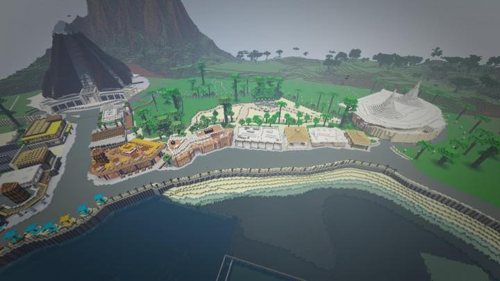 minecraft dinosaurs map download
