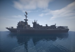 F-91 warship Minecraft Project