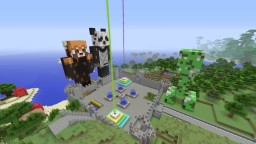 LC Crafts 1.0 Modded Factions Server US Ps3 Ps3 Vita Minecraft Map & Project