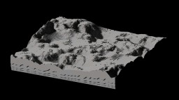 Moon Inspired Terrain (Free to use) Minecraft Map & Project