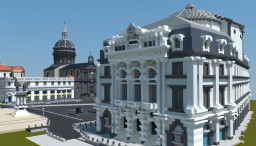 Opéra-Théâtre, Clermont-Ferrand (France) Minecraft Project