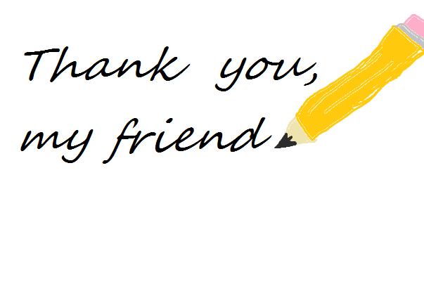 Poem Thank You My Friend Thesilentwind Minecraft Blog