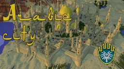Arabic city Minecraft Map & Project