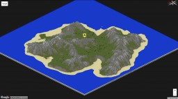 Island Landscape Minecraft Map & Project